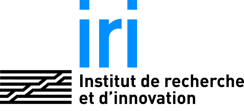 logo Institut de Rechercher et d'Innovation du centre pompidou IRI